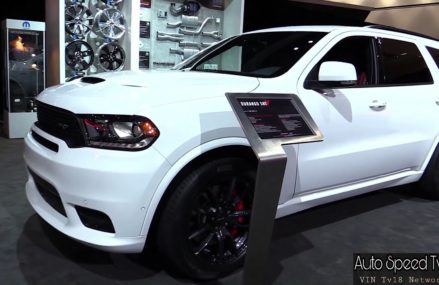 2018 Dodge Durango SRT   Exterior and Interior Walkaround   2017 LA Auto Show Indianapolis Indiana 2018