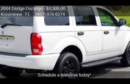 2004 Dodge Durango SLT 4WD 4dr SUV for sale in Kissimmee, FL Akron Ohio 2018