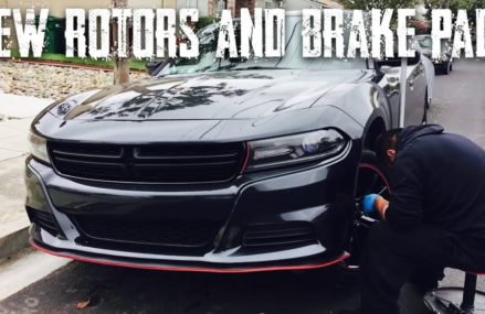 NEW ROTORS AND BRAKE PADS | 2016 DODGE CHARGER | INSTALL in 80802 Arapahoe CO