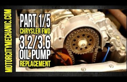 """Part 1/5 Chrysler FWD 3.2/3.6 Pentastar Oil Pump Replacement """"By The Book"""" Near Morgantown 26507 WV"""