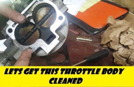 1996 (2nd Gen) Dodge Ram 5.2 Throttle Body Cleaning & New IAC Valve Hampton Virginia 2018