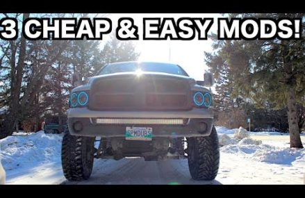 3 CHEAP TRUCK MODS THAT YOU CAN DO EASY! Near 56092 Walters MN