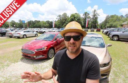 2018 Ford Fusion Titanium Versus 2018 Chevrolet Malibu Premier | In Depth Comparison Review Savannah Georgia 2018