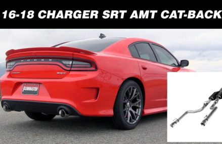 Flowmaster American Thunder Cat-back Exhaust 2015-2018 Dodge Charger SRT 392, Scat Pack & Hellcat Now at 70716 Bayou Goula LA