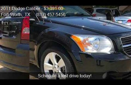 Dodge Caliber For Sale From Mont Belvieu 77580 TX USA
