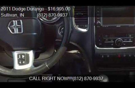 2011 Dodge Durango Crew Lux AWD 4dr SUV for sale in Sullivan Augusta-Richmond Georgia 2018