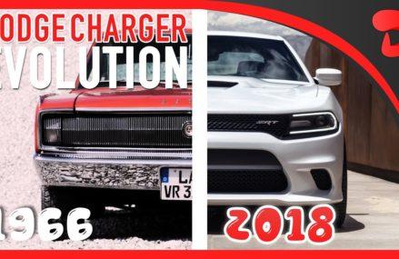 Evolution of the DODGE CHARGER | Car Evolution 1966 – 2018 From 32702 Altoona FL