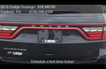 2018 Dodge Durango SXT Plus AWD 4dr SUV for sale in Sunbury, Cary town North Carolina 2018