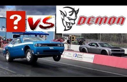 Dodge Viper Quarter Mile Time in Sayre Speedway, Sayre, Alabama 2018