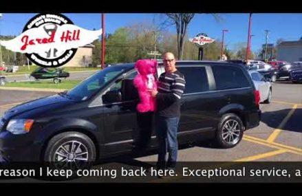 Eric Bissonnette 2017 Dodge Caravan    JIM GILBERT'S WHEELS & DEALS Near Marble Canyon 86036 AZ