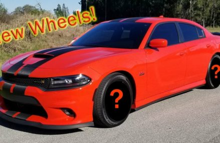 New Wheels for my 2017 Dodge Charger Scat Pack in GoMango! Local Area 58004 Amenia ND