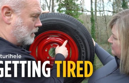 GETTING TIRED | Selecting new trailer tires for our vintage Airstream. Near Memphis 47143 IN