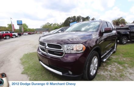 The 2012 Dodge Durango | For Sale Review & Condition Report @ Marchant Chevy | April 2018 Pasadena Texas 2018