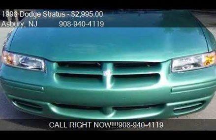 1998 Dodge Stratus Base 2.4l at San Marcos 92069 CA
