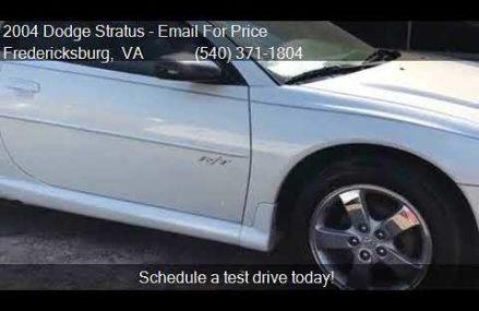 Dodge Stratus Coupe 2004, Novi 48376 MI