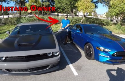 Mustang GT Owner Drives My Challenger SRT 392 and LOVES IT?!? Local Area 4608 Atlantic ME