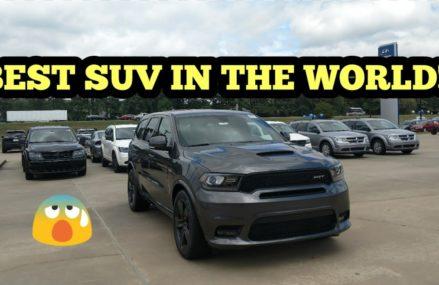 2018 SRT DURANGO BEST SUV IN ITS CLASS???🤔 2018 SRT DURANGO REVIEW!! Fort Collins Colorado 2018