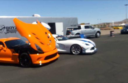 Dodge Viper Las Vegas Near Golden Sands Speedway, Plover-Wisconsin Rapids, Wisconsin 2018