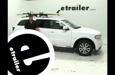 Thule  Watersport Carriers Review – 2015 Dodge Durango – etrailer.com Indianapolis Indiana 2018