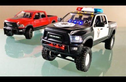 BRUDER Dodge RAM POLICE 🚔👮🚓Bruder RC Pickup Truck in City 41390 Whick KY
