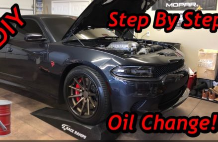 DODGE CHARGER SRT HELLCAT OIL CHANGE | HOW TO Now at 48103 Ann Arbor MI
