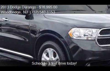2013 Dodge Durango Crew AWD 4dr SUV for sale in Woodbridge, Irvine California 2018