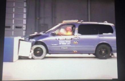 1999 Nissan Quest moderate overlap IIHS crash test Near New Ipswich 3071 NH