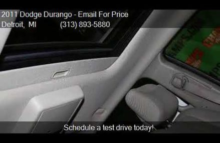 2011 Dodge Durango Crew AWD 4dr SUV for sale in Detroit, MI Yonkers New York 2018