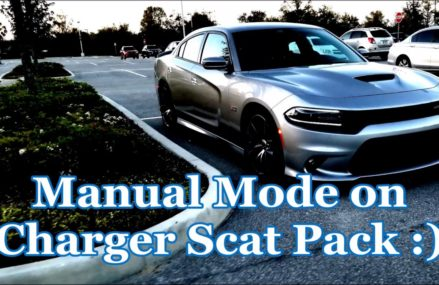 Manual Mode on '18 Charger Scat Pack For 4002 Alfred ME