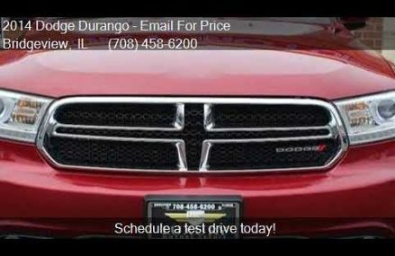 2014 Dodge Durango Limited AWD 4dr SUV for sale in Bridgevie Plano Texas 2018