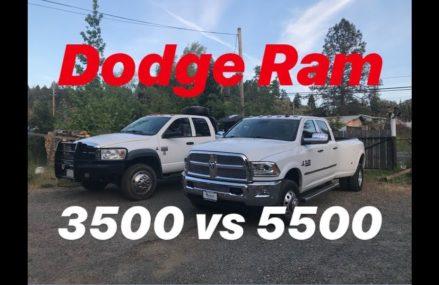 DODGE RAM 3500 VS DODGE 5500 WHICH IS BETTER (CUMMINS) Area Code 36775 Sardis AL