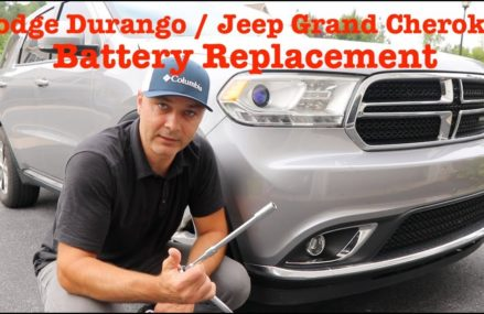 BATTERY LOCATION, REPLACEMENT – Dodge Durango / Jeep Grand Cherokee 2011 and UP Chesapeake Virginia 2018