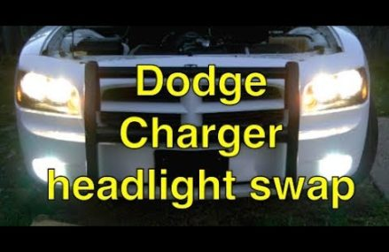 How to change Dodge Charger headlights From 15610 Acme PA