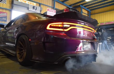 Hellcat charger exhaust at 57312 Alpena SD