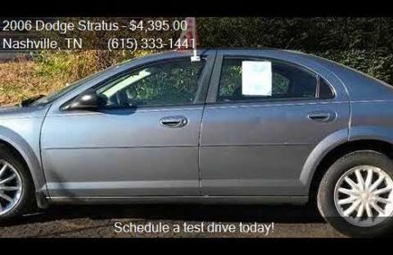 2006 Dodge Stratus Sxt 2.4l, North Las Vegas 89087 NV
