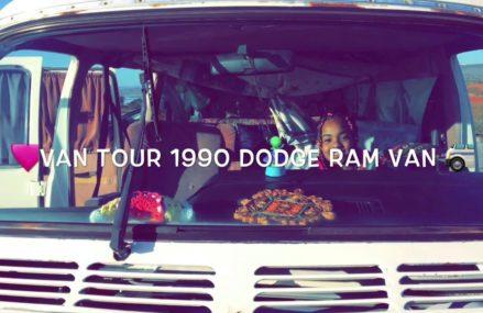 💕Van Tour 1990 Dodge Ram Van 🗺 From 13863 Willet NY