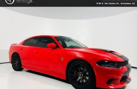 #2078A | 2018 Dodge Charger SRT Hellcat Navigation | For Sale Scottsdale, AZ at 37018 Beechgrove TN