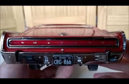 Dodge Charger 1966 1:18 diecast, by ERTL Authentics Around Zip 10506 Bedford NY