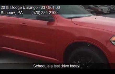 2018 Dodge Durango SXT Plus AWD 4dr SUV for sale in Sunbury, Lancaster California 2018