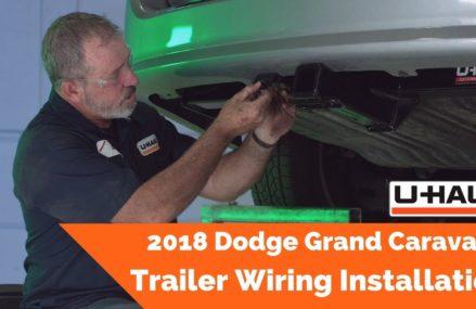 2018 Dodge Grand Caravan Trailer Wiring Installation Near Millry 36558 AL