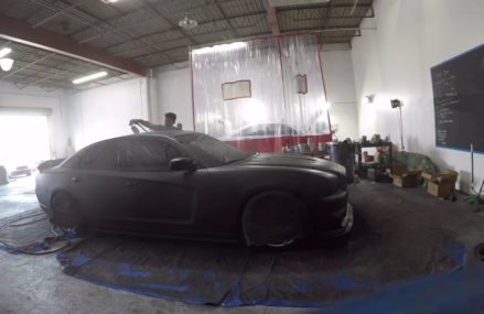 PlastiDip my friends Dodge Charger…??? Now at 21283 Baltimore MD