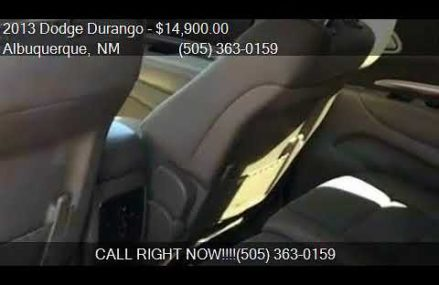 2013 Dodge Durango SXT 4dr SUV for sale in Albuquerque, NM 8 Oklahoma  Oklahoma 2018