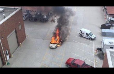 Dodge Viper Dangerous Near Galesburg Speedway, Galesburg, Michigan 2018