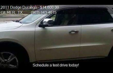 2011 Dodge Durango Citadel 4dr SUV for sale in GILMER, TX 75 Boise Idaho 2018