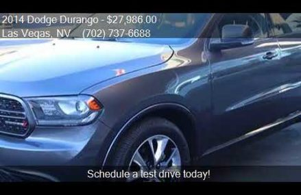 2014 Dodge Durango R/T AWD 4dr SUV for sale in Las Vegas, NV Glendale California 2018