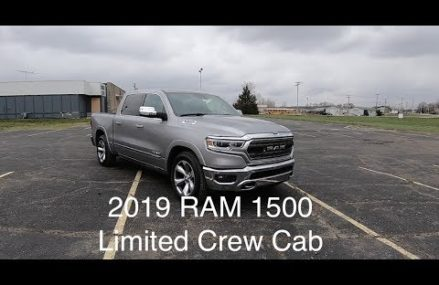 2019 RAM 1500 Limited Crew Cab 4X4|In Depth Review|Walk Around Video|Test Drive Area Code 4098 Westbrook ME