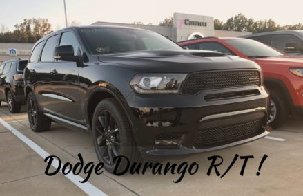 2018 Dodge Durango RT Review! Seattle Washington 2018