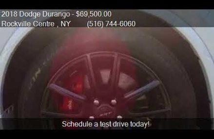 2018 Dodge Durango SRT AWD 4dr SUV for sale in Rockville Cen Garden Grove California 2018