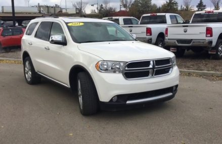 2011 Dodge Durango Crew Plus | 17RQ7403B | Crosstown Chrysler Jeep Dodge | Edmonton AB Alexandria Virginia 2018