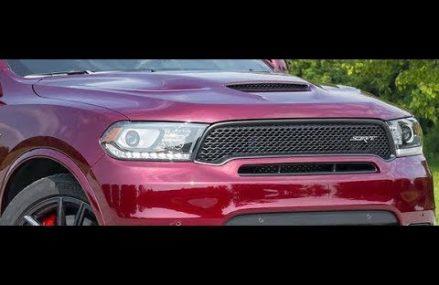 2018 Dodge Durango SRT lap at Road America Hayward California 2018